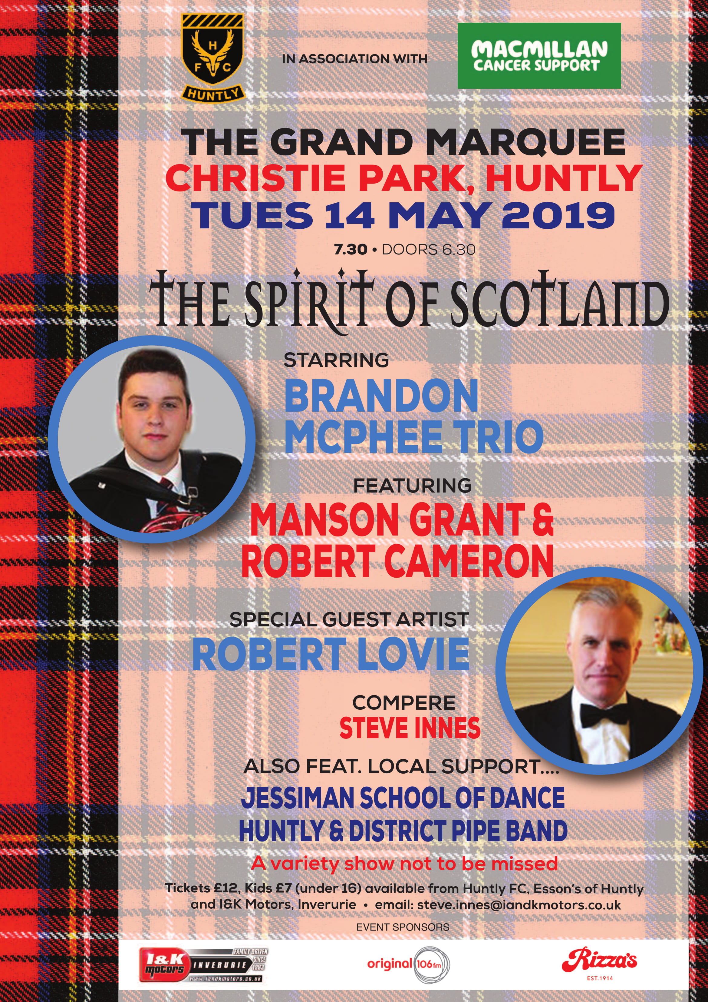 Marquee in the Park: The Spirit of Scotland